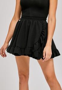 Czarna spódnica Diverse mini