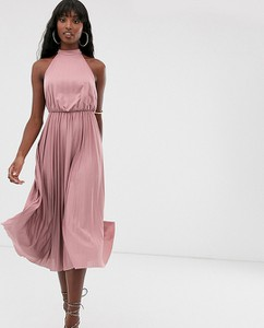 Sukienka Asos midi bez rękawów