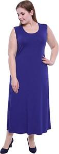 7ca6fa2d87 sukienka kolor chabrowy - stylowo i modnie z Allani