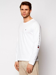 Koszulka z długim rękawem Tommy Hilfiger z bawełny