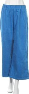 Niebieskie spodnie Dr.Denim w stylu retro ze sztruksu
