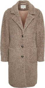 Płaszcz Cream w stylu casual