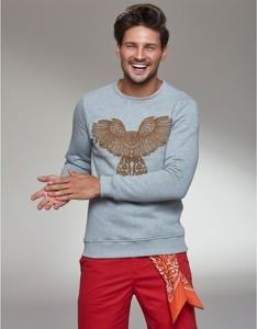 Bluza Mana For Men z nadrukiem z bawełny