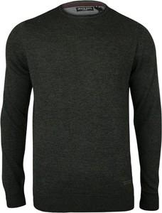 Czarny sweter Brave Soul w stylu casual z bawełny