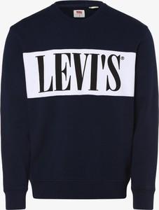 Granatowa bluza Levis w stylu casual