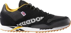 Buty sportowe Reebok Fitness ze skóry sznurowane z płaską podeszwą