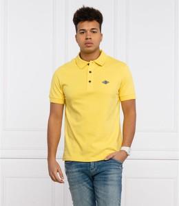 Żółta koszulka polo Replay