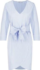 Sukienka NA-KD w stylu casual z długim rękawem mini