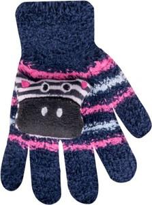 Rękawiczki yoclub w zwierzęce wzory