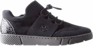 Czarne buty sportowe Rieker