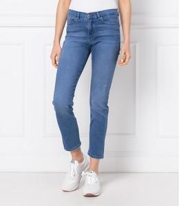 Niebieskie jeansy Hugo Boss