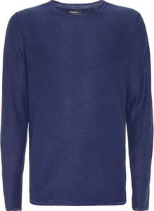 Niebieski sweter O'Neill z bawełny w stylu casual