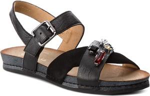 Sandały Maciejka z klamrami w stylu casual