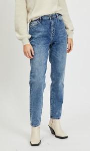 Niebieskie jeansy .object z bawełny