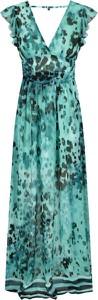 Sukienka Liu-Jo maxi z krótkim rękawem w stylu casual