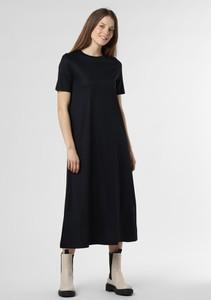 Sukienka Drykorn z krótkim rękawem z okrągłym dekoltem maxi