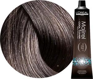 L'Oreal Paris Loreal Majirel Cool Cover | Trwała farba do włosów o chłodnych odcieniach - kolor 6.11 ciemny blond popielaty głęboki 50ml - Wysyłka w 24H!