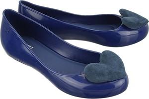Niebieskie baleriny Zaxy