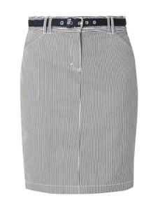 Spódnica Montego z bawełny mini w stylu casual