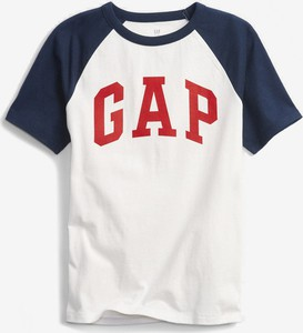 Koszulka dziecięca Gap z krótkim rękawem dla chłopców z bawełny