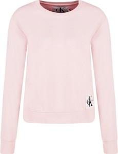 Bluza Calvin Klein krótka w stylu casual