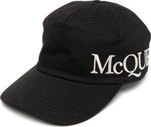 Czarna czapka Alexander McQueen