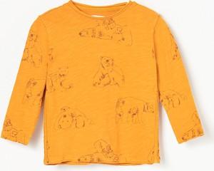 Koszulka dziecięca Reserved z bawełny z długim rękawem
