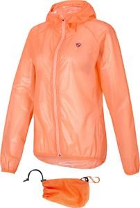 Pomarańczowa kurtka Ziener w stylu casual krótka