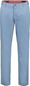 Niebieskie chinosy Lavard z bawełny