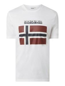 T-shirt Napapijri w sportowym stylu