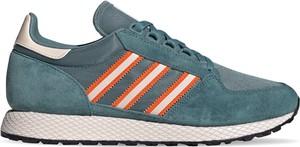Turkusowe buty sportowe Adidas