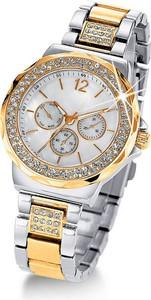 Zegarek na rękę na metalowej bransoletce | bonprix