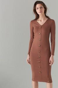 d345b3e45c mohito sukienka z koronką - stylowo i modnie z Allani