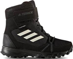 Buty zimowe Adidas na rzepy