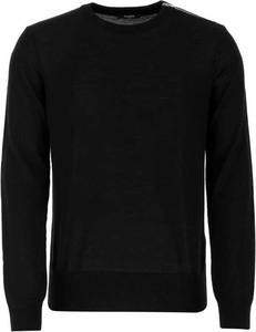 Czarny sweter Balmain w stylu casual