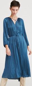 Sukienka Reserved z satyny