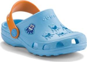 Niebieskie buty dziecięce letnie Coqui