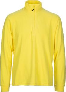 Żółta bluza CMP z plaru w stylu casual
