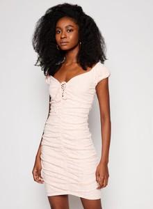 Sukienka Guess z dekoltem w kształcie litery v mini