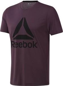 Fioletowy t-shirt Reebok Fitness