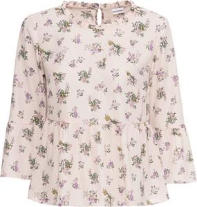 Bluzka bonprix BODYFLIRT z okrągłym dekoltem z długim rękawem