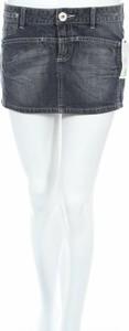 Granatowa spódnica Hot Options mini w stylu casual