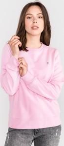 Bluza Tommy Hilfiger z bawełny krótka