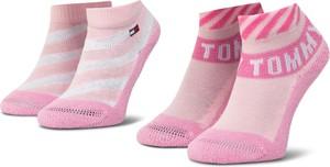 Różowe skarpetki eobuwie.pl dla dziewczynek