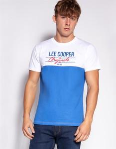 T-shirt Lee Cooper z bawełny w młodzieżowym stylu