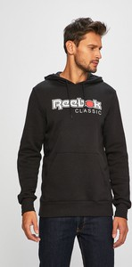 Czarna bluza Reebok Classic z bawełny