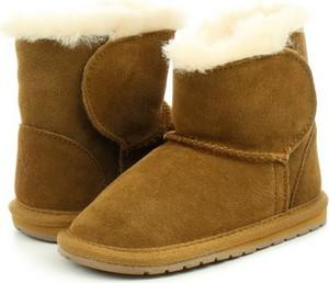Brązowe buty dziecięce zimowe EMU