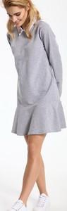 Sukienka Top Secret z kołnierzykiem w stylu casual