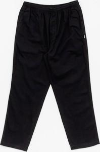 Czarne spodnie Stussy z bawełny
