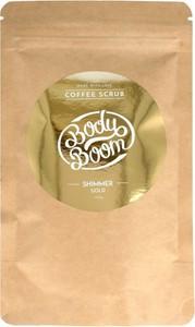 Bielenda Body Boom, peeling kawowy do ciała, Shimmer Gold, 100g